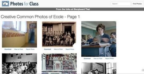 Moteur de recherche d'images libres pour une utilisation à l'école | Technologies numériques & Education | Scoop.it