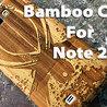 Samsung Note 2 Wooden Case