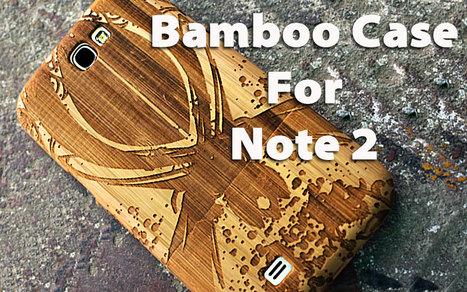Samsung Galaxy Note 2 Wooden Case | Samsung Note 2 Wooden Case | Scoop.it