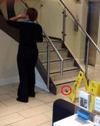 That's the wrong kind of deposit! Barclays bank customer POOS all over the floor | Delivering That ' Wow' In Your Organisation | Scoop.it