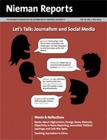 Nieman Reports | What Is Journalism's Place in Social Media? | CoMuNiC@ÇãO | Scoop.it