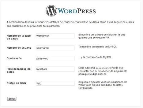 Instalación de Wordpress I   Instala wordpress en tu hosting   SEO y Wordpress   Scoop.it