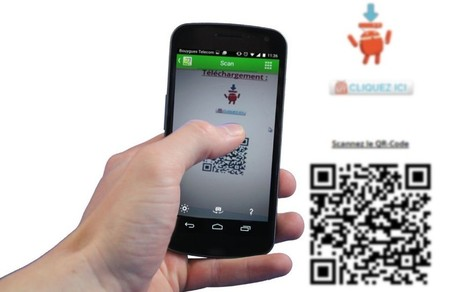 Tutoriel : Comment scanner des QR Codes avec QR Droid | INFORMATIQUE 2015 | Scoop.it