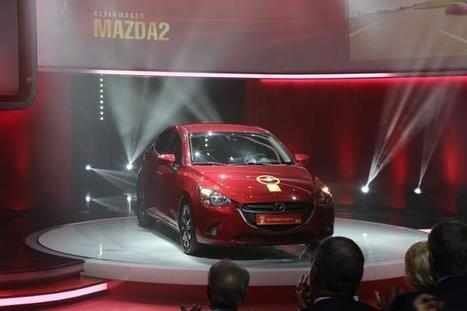 La nouvelle Mazda 2 remporte le Volant d'Or à Berlin | Mazda | Scoop.it