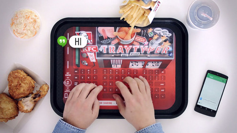 KFC's Tray Typer makes it easier to eat fried chicken whilel texting | Real Estate Plus+ Daily News | Scoop.it
