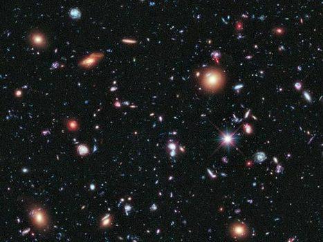 Hubble : une galaxie de plus de treize milliards d'années ... | Découvertes de l'univers | Scoop.it