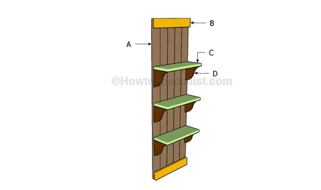 Wall shelves plans | HowToSpecialist - How to Build, Step by Step DIY Plans | Backyard Plans | Scoop.it