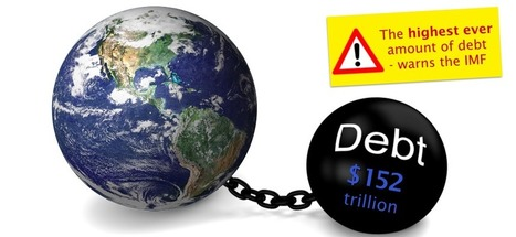 Global debt reaches $152 trillion – We need an alternative! | The Money Chronicle | Scoop.it