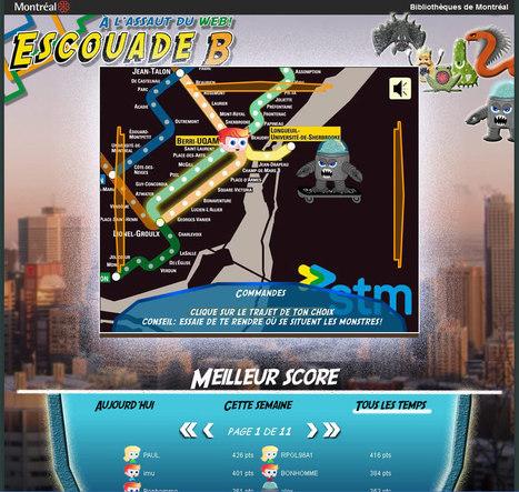 Escouade B : Un serious game sur la fiabilité des sites internet | Serious games : des jeux pour apprendre | Scoop.it