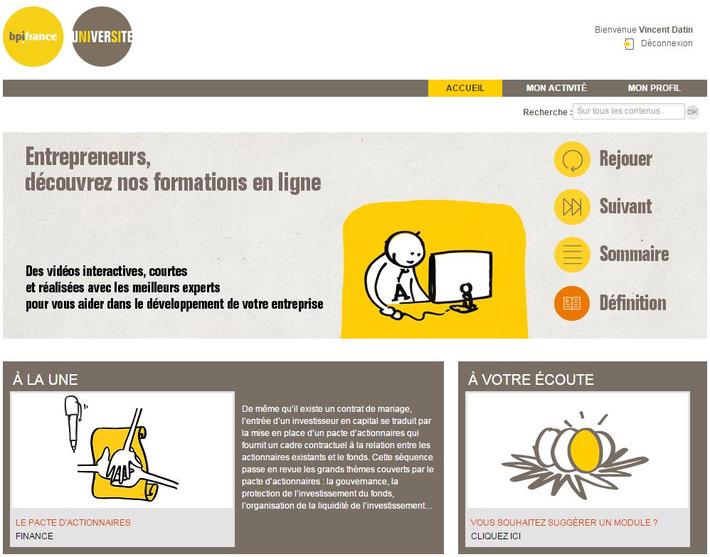 Bpifrance Université : des cours en ligne gratuits pour entrepreneurs pressés ! | MOOC Francophone | Scoop.it