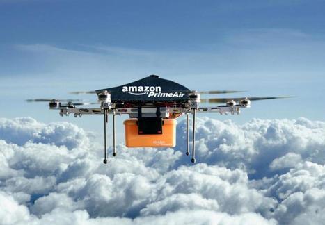 Les drones d'Amazon se chargent sur les réverbères | Immobilier | Scoop.it