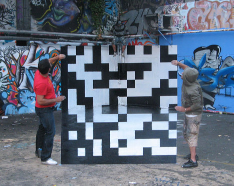 Anamorphose street art par TSF Crew | QRdressCode | Scoop.it