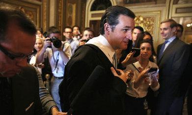 Republican senator Ted Cruz launches marathon anti-Obamacare speech | BHS GOPO | Scoop.it
