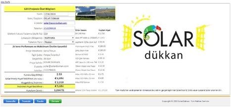 Solar Maliyet Hesap Makinesi | Solar Dükkan | Scoop.it