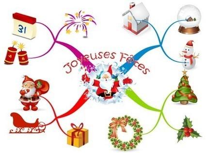 » Joyeuses Fêtes ! - Lettres et Cartes Heuristiques | Le Mind Mapping | Scoop.it