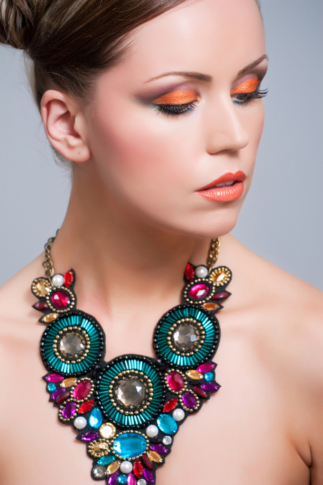 Get The Look: Stylish Statement Necklaces | Accessories | Scoop.it