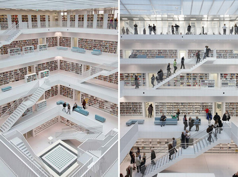 New German Stuttgart Library: The Future of Library Design? | Yaminatoday - A Literary Blog That Entertains & Educates | The Information Professional | Scoop.it