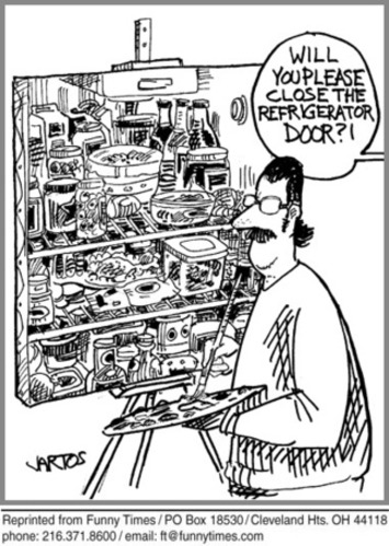 Funny Cartoon of the Week November 23, 2011 - refrigerator ... | Machinimania | Scoop.it