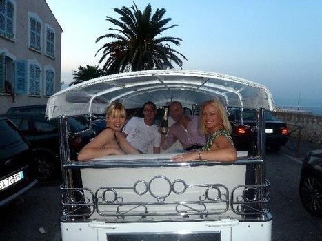 Electric tuk tuk around Antibes and Cannes. | Hidden Gem in Antibes | Scoop.it