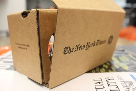 Quantum shift: welcome to The New York Times' VR future - The Verge | Futurewaves | Scoop.it
