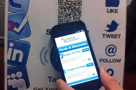 Social Passport taps QR codes, NFC for real-world social interaction | Marketing in the physical world | Scoop.it