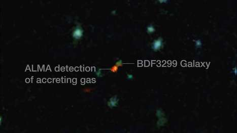 ESO's ALMA provides detailed look at galaxy formation in the early Universe | Chris Wood | GizMag.com | Digital Media Literacy + Cyber Arts + Performance Centers Connected to Fiber Networks | Scoop.it