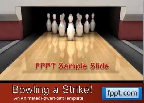 Animated Bowling Template For PowerPoint Presentations | PowerPoint Presentation Library | Scoop.it