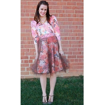 Idea file: Tulle over a print   refashioned clothing   Scoop.it