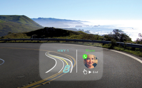 Navdy's Heads-Up Display Wants To Be The Safer Alternative To Using Your Smartphone While Driving | TechCrunch | Technology | Scoop.it