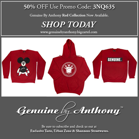 Genuine By Anthony Online Sale Only! | Genuine by Anthony | Fashion . Art . Music . Entertainment | Scoop.it