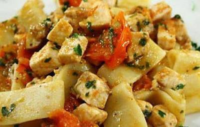 Ricette di primi: calamarata al sugo di pesce spada - Ladyblitz | Mangiare diverso | Scoop.it