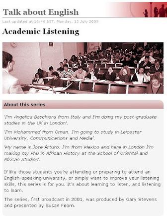 BBC Academic Listening | M3C | Scoop.it