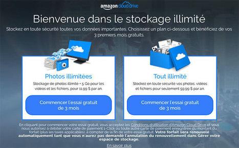 Amazon Cloud Drive passe au stockage illimité | Brèves de scoop | Scoop.it