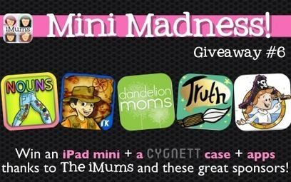The iMums' Super Six! Win an iPad Mini + Case + Apps - #MiniMadness #6 @ The iMums | Apps With Curriculum | Scoop.it