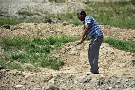 """A Kaboul, jouer entre sable et pierres sur le """"golf le plus extrême du monde"""" - LExpress.fr   Nouvelles du golf   Scoop.it"""