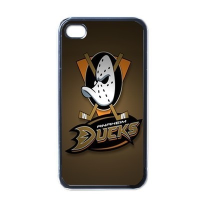 Apple iPhone Case - NHL Anaheim Ducks Hockey Team Logo - iPhone 4 Case | Merchanstore - Accessories on ArtFire | Custom iPhone 4 or 4S Case Cover | Scoop.it