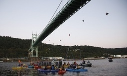 #Activists hang from bridge in #Portland to block #Shell's #Arctic vessel | Messenger for mother Earth | Scoop.it