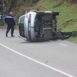 Accident sur la RD 929 à hauteur de Sarrancolin - La Semaine des Pyrénées | Vallée d'Aure - Pyrénées | Scoop.it