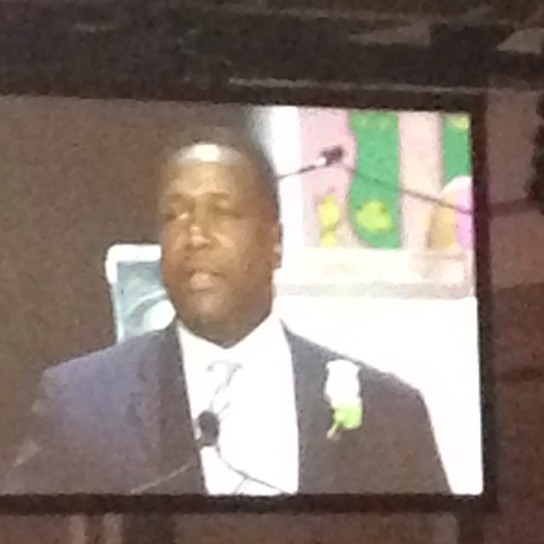 Wendell Pierce Accepts Presidents Award