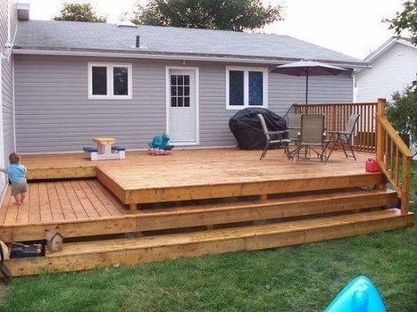 Backyard Decks Design | Homescreation.com | What's Interesting and Trending Around The Web, United States and The World | Scoop.it