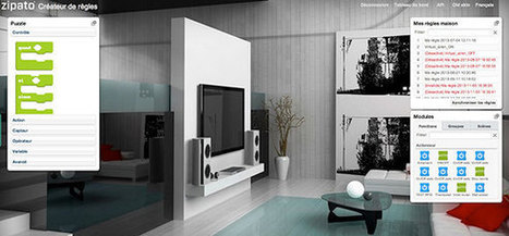 Nouvelle skin pour l'interface utilisateur de la Zipabox   Soho et e-House : Vie numérique familiale   Scoop.it