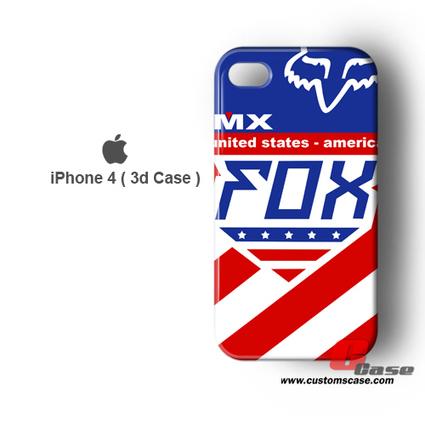 America FOX Racing 3D iPhone 4 Case | iphone apps | Scoop.it