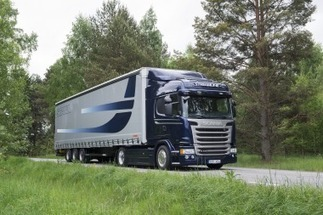 Scania truck with Euro 6 engine wins German environmental award ...   Truck Diagnostics   Scoop.it