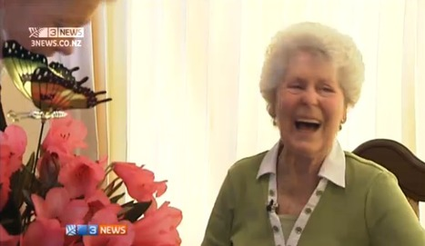 The radiant smile and inspiring story of 84 year old type 1 Winsome Johnston | Diabetes Now | Scoop.it