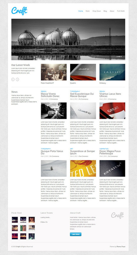 10+ Best WordPress Portfolio Themes To Let You Show Off Your Works   WordPress   Scoop.it