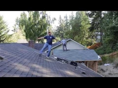 Energetic roofer can't help but samba to Latino music - YouTube | Building and Construction | Scoop.it
