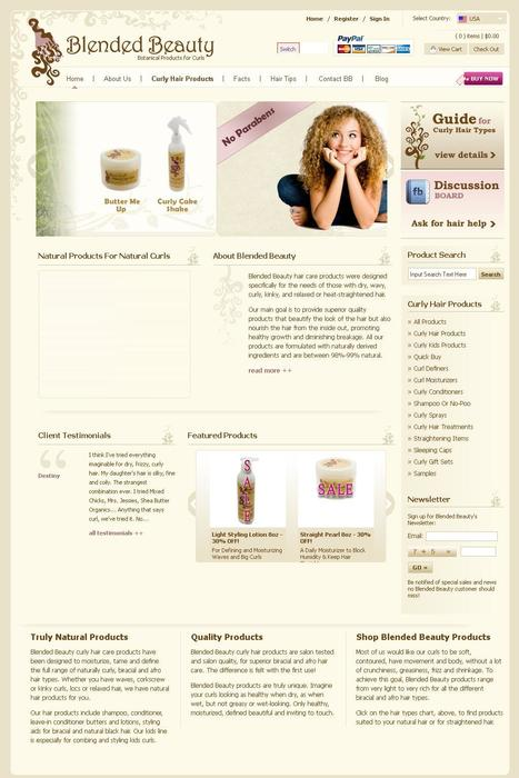 Feature Rich PHPMySQL Based Online Store Developed For Selling Different Kinds Of Hair Products. | Portfolio | Scoop.it