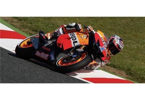 Catalunya ΕΔ1: Stoner, Pedrosa μπροστά   MotoGP World   Scoop.it