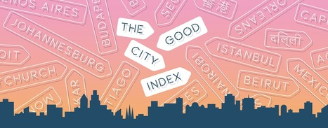 The 2014 GOOD City Index | green infographics | Scoop.it