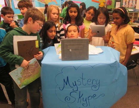 Geography Skills Soar With Mystery Skype | Scholastic.com | Primary Geography for the Australian Curriculum | Scoop.it